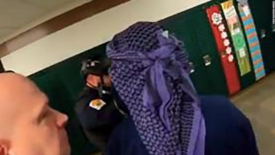 School district pushes back against criticism over Arab stereotype in shooting drill