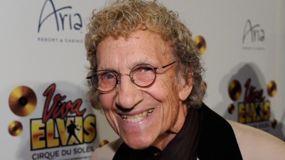 Comedian Sammy Shore in Las Vegas in 2010.