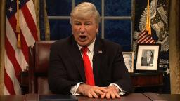 'SNL' has Trump singing 'Don't Stop Me Now'