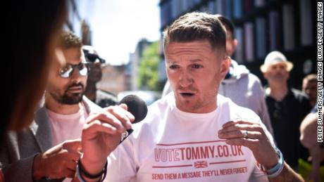 Tommy Robinson could face jail time after being found in contempt of court