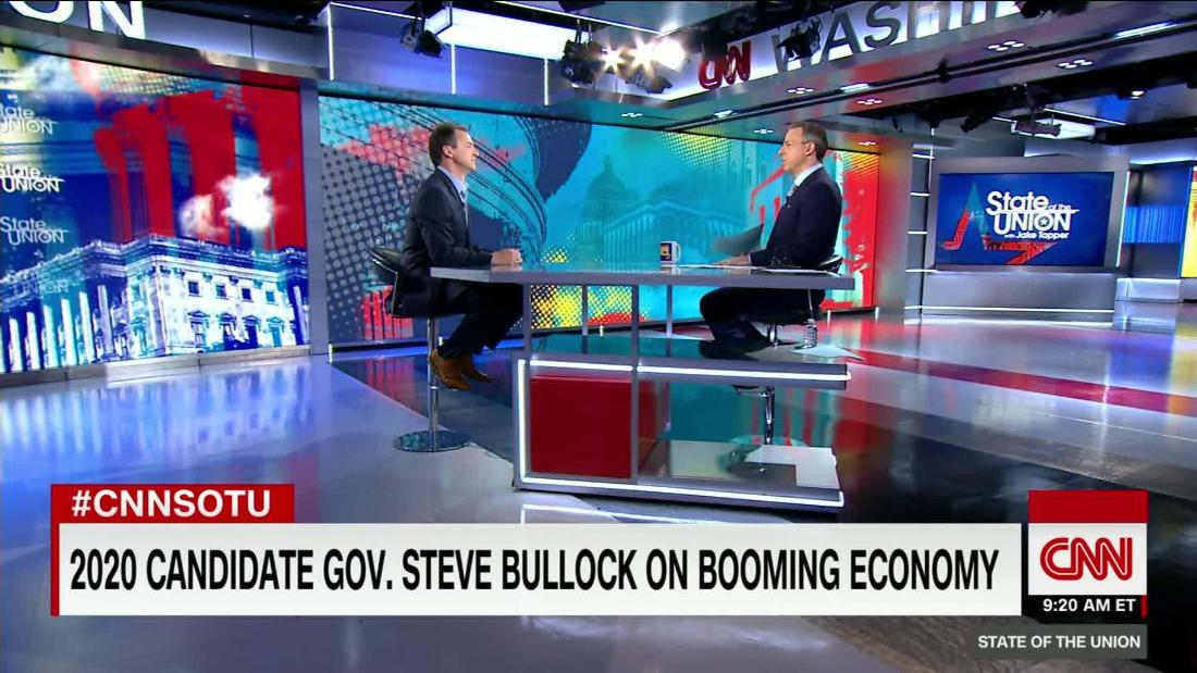 Bullock on why he's best Democrat for 2020