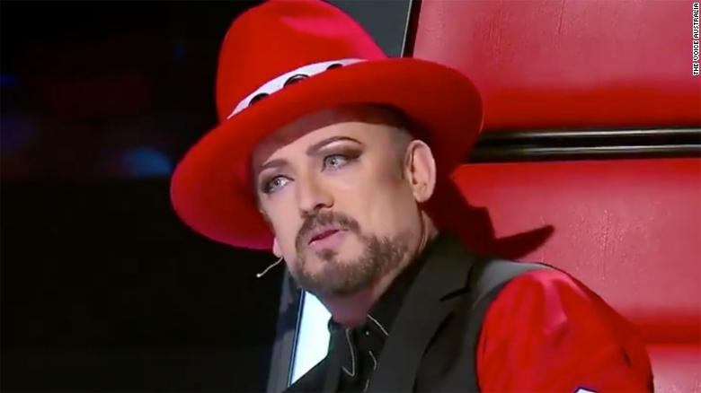 Boy George storms off the set of 'The Voice'