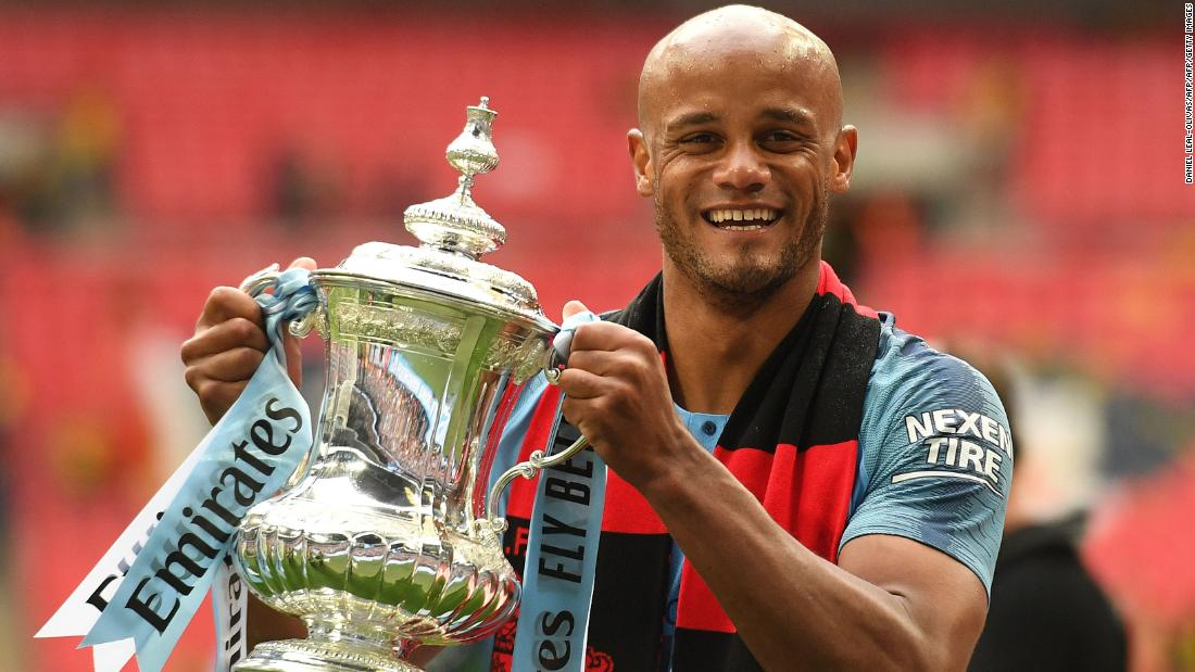 Kompany To Leave Manchester City Cnn