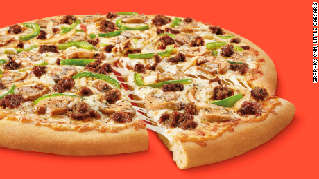 Little Caesars tests an impossible pizza