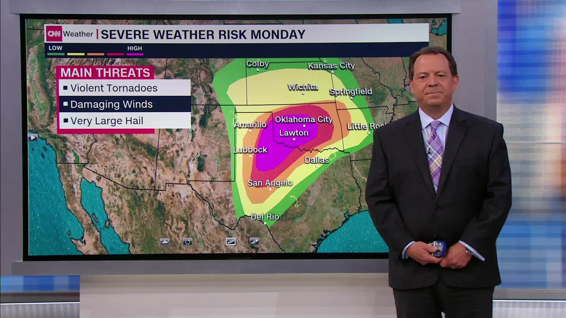 Severe weather heading toward Texas and Oklahoma - CNN Video on lightning maps, harris county maps, climate change maps, jet stream forecast maps, traveling maps, sports maps, severe weather history maps, air pollution maps, wind forecast maps, temperature forecast maps, el nino forecast maps, winter forecast maps,