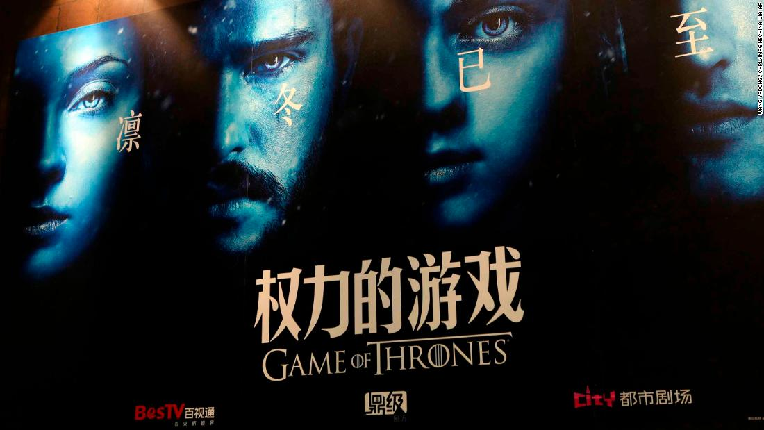 Tencent Video delays Game of Thrones finale in China - CNN