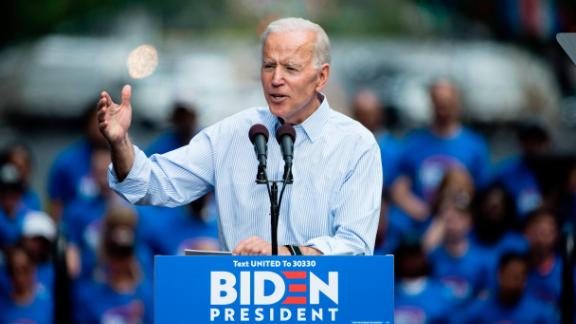 Democratic presidential candidate, former Vice President Joe Biden during a campaign rally at Eakins Oval in Philadelphia, Saturday, May 18, 2019. (AP/Matt Rourke)
