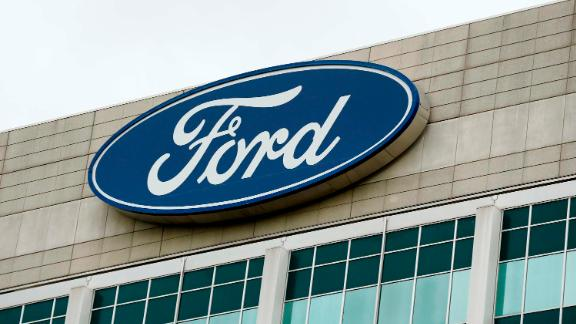 The Ford Motor Co. headquarters stands in Dearborn, Michigan, U.S., on Tuesday, May 22, 2017.  Photographer: Jeff Kowalsky/Bloomberg via Getty Images