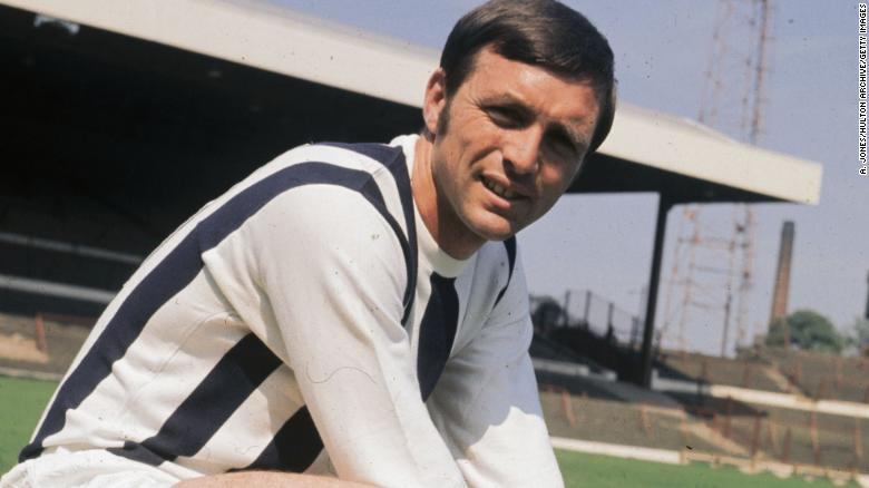 Former footballer Jeff Astle, who died aged 59, had been suffering from CTE.