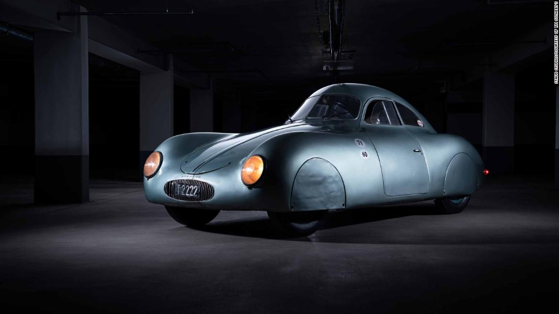 $17 million or $70 million? 1930s Porsche fails to sell after auction snafu