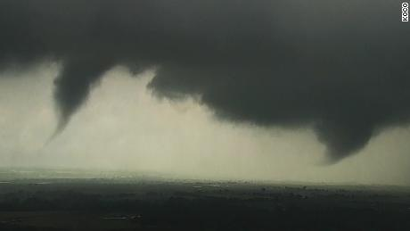 See tornadoes forming in Oklahoma
