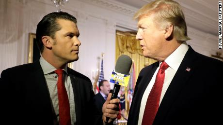 Fox News host Pete Hegseth privately encouraged Trump to reprieve soldiers for war crimes