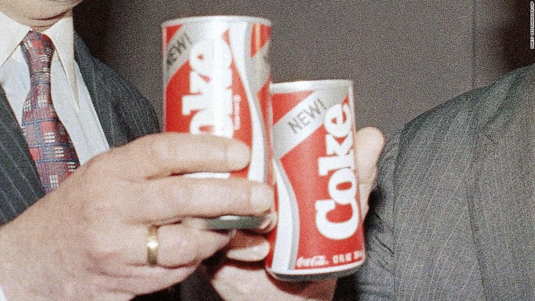 what year did new coke come out