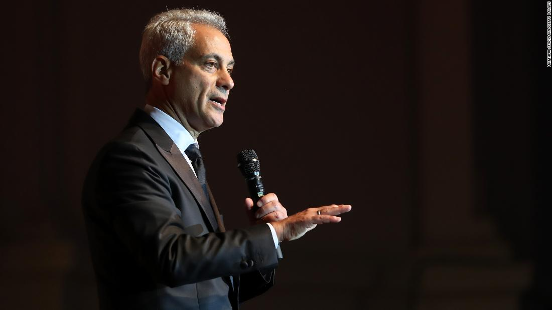 Rahm Emanuel under consideration to become Biden's transportation secretary