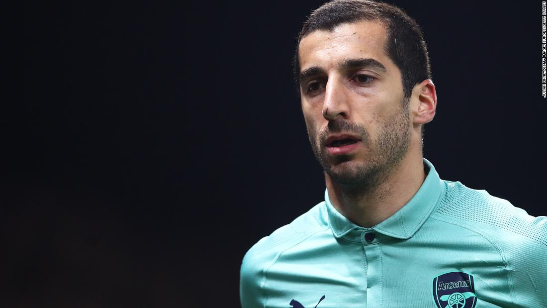 Mkhitaryan to miss Europa League final amid safety concerns