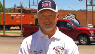 Fire department chief describes rescuing family of 6