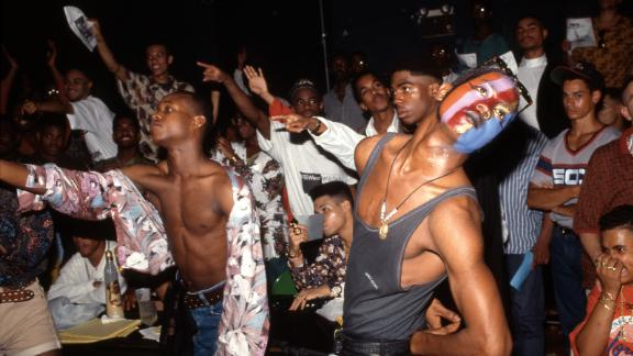 A scene from a party at the then-NYC Gay Community Center in 1990.