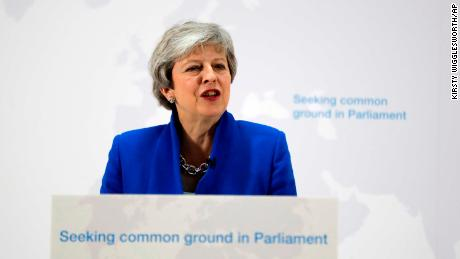 Theresa May offers vote on second referendum if lawmakers back 'new Brexit deal'