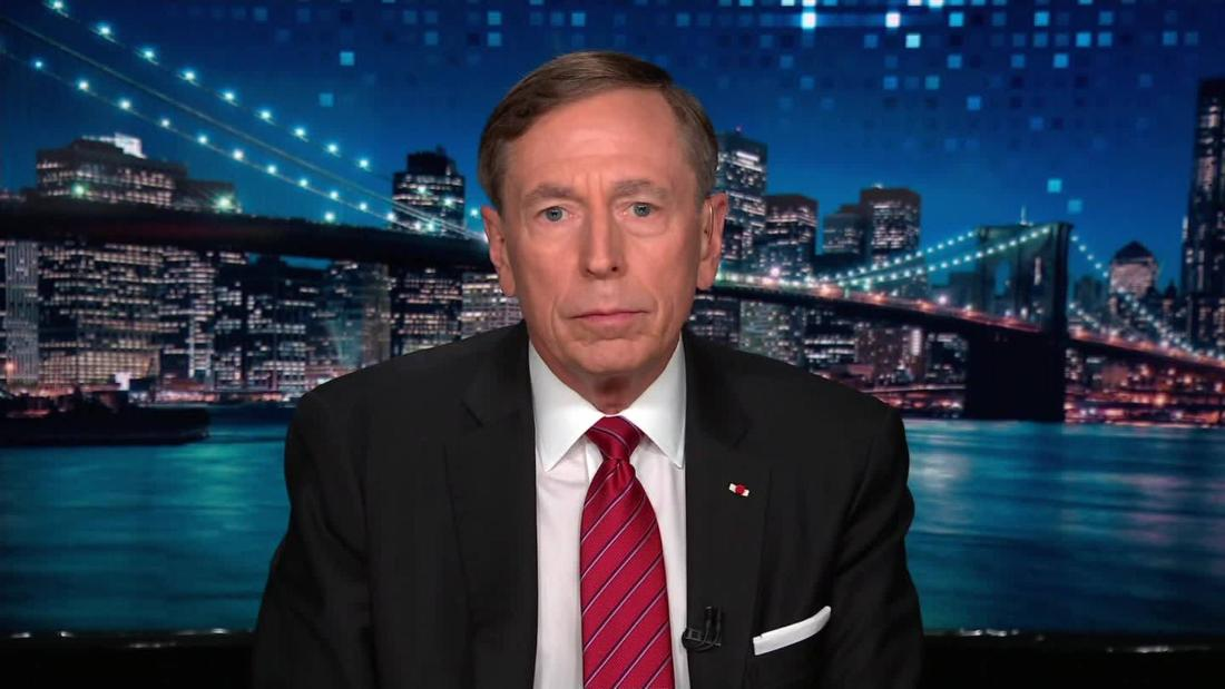 Pretraeus: Trump not eager for war with Iran