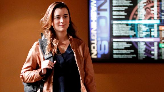 "Cote de Pablo, seen here in a 2013 episode of ""NCIS,"" made a big return to the show in the season finale."