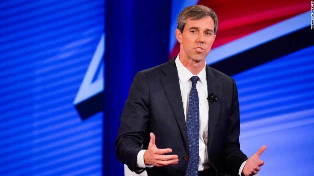 O'Rourke: 'We should begin impeachment proceedings against Donald Trump'