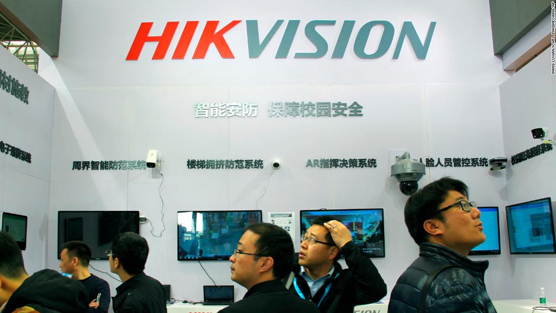 Hikvision stock plunges after reports of a possible US ban - CNN