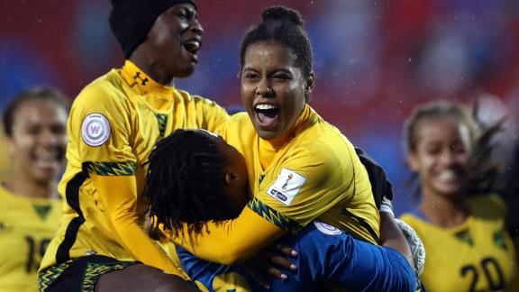 Jamaica is the first Caribbean country to qualify for the Women's World Cup.