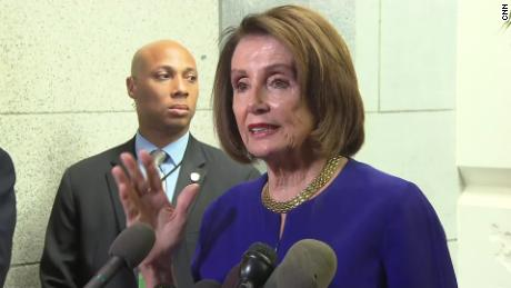 pelosi after trump meeting 5/22