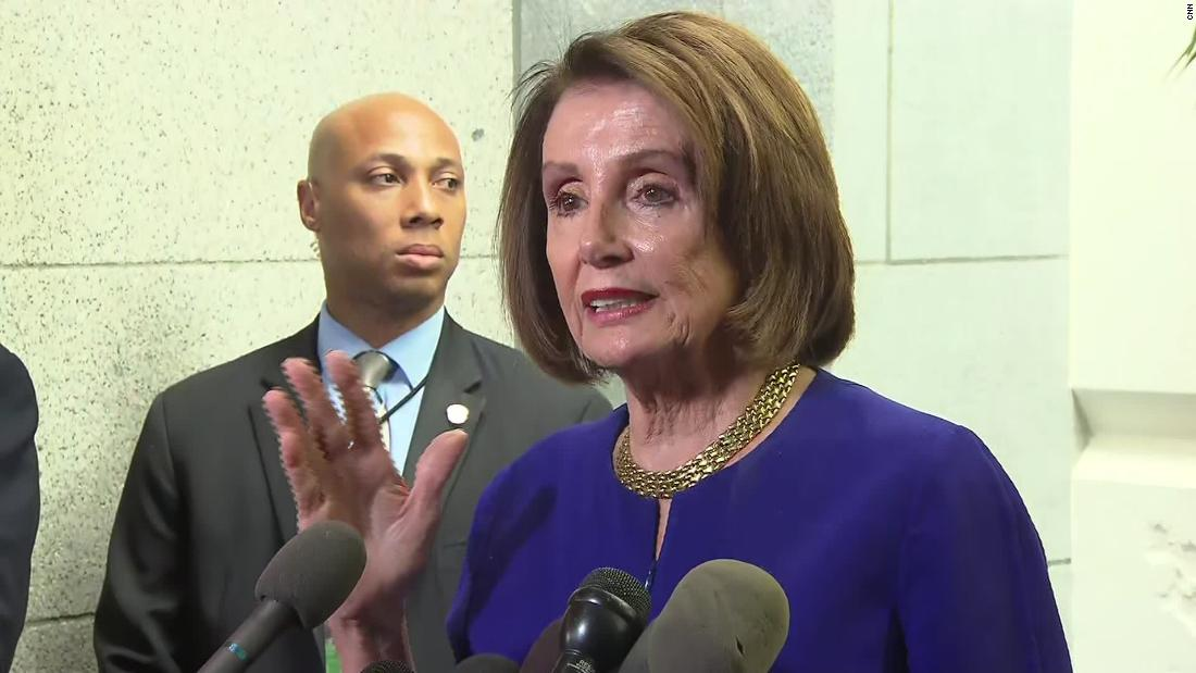 Pelosi: We believe that Trump is engaged in a cover-up