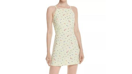 8599a9410df French Connection Whisper Floral-Print Mini ($103.60, originally $148;  bloomingdales.com)