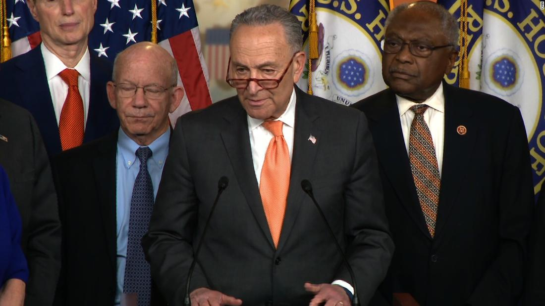 Schumer: What happened at WH would make your jaw drop