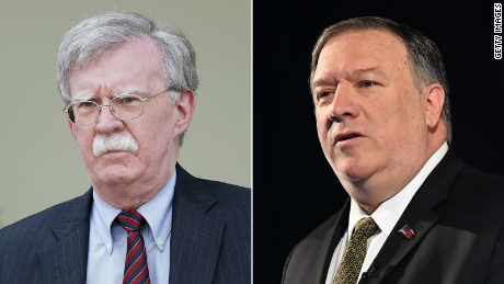 Tensions rise between Pompeo and Bolton
