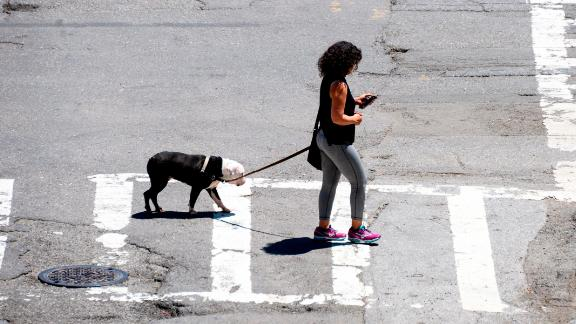 It could soon be illegal to cross a New York street while texting.