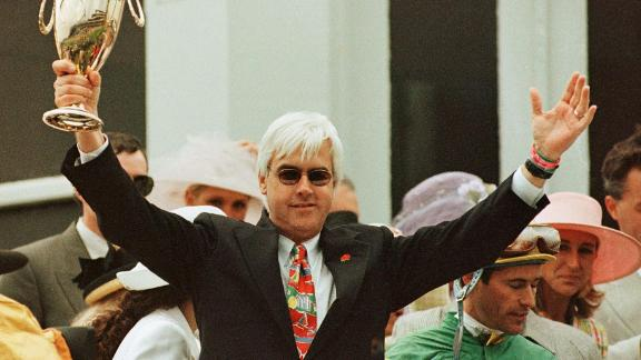 Bob Baffert won the first of five Kentuck Derby titles with Silver Charm in 1997.