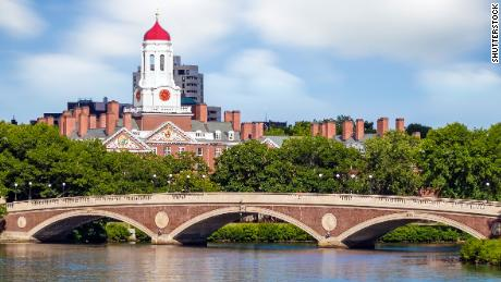 Harvard University campus Boston.