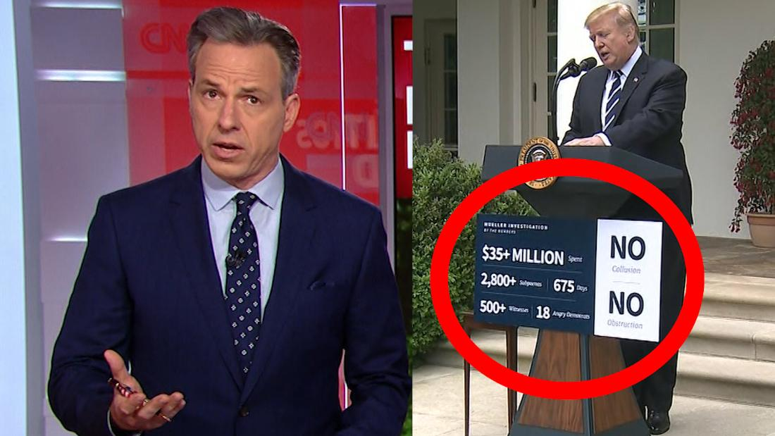 Tapper: This clue shows Trump's tirade wasn't spontaneous