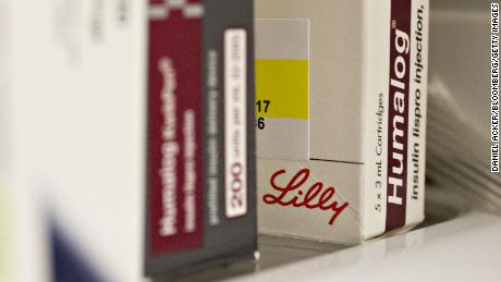 A box of Eli Lilly & Co. Humalog brand insulin medication is arranged for a photograph at a pharmacy in Princeton, Illinois, U.S., on Monday, Oct. 23, 2017. Eli Lilly is scheduled to release earnings figures on October 24. Photographer: Daniel Acker/Bloomberg via Getty Images