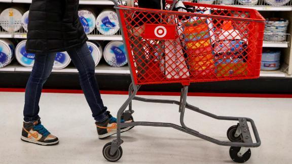 A shopper is seen in a Target store in the Brooklyn borough of New York, U.S., November 14, 2017.   REUTERS/Brendan McDermid