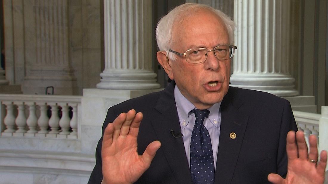 Bernie Sanders trolls Trump for storming out of meeting
