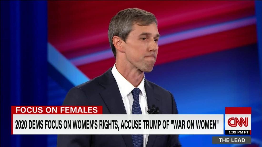 2020 Dems focus on women's rights & health, accuse Trump of 'war on women'