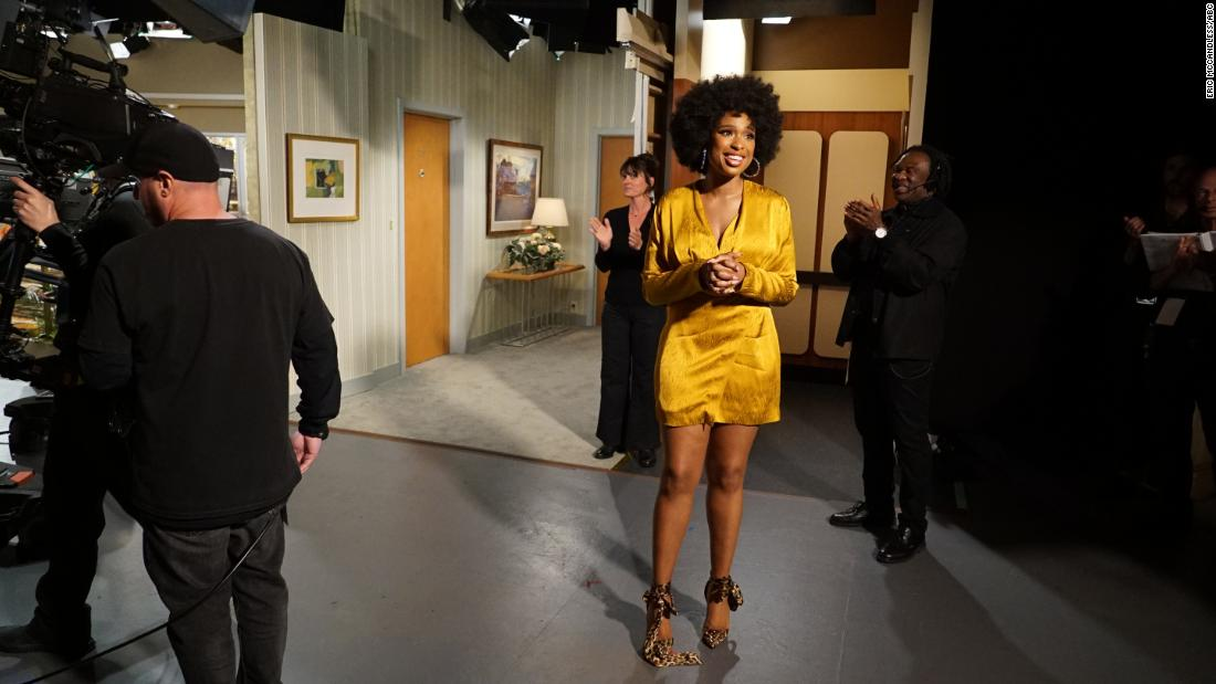Jennifer Hudson delivers inspired take on 'Jeffersons' theme for ABC live special