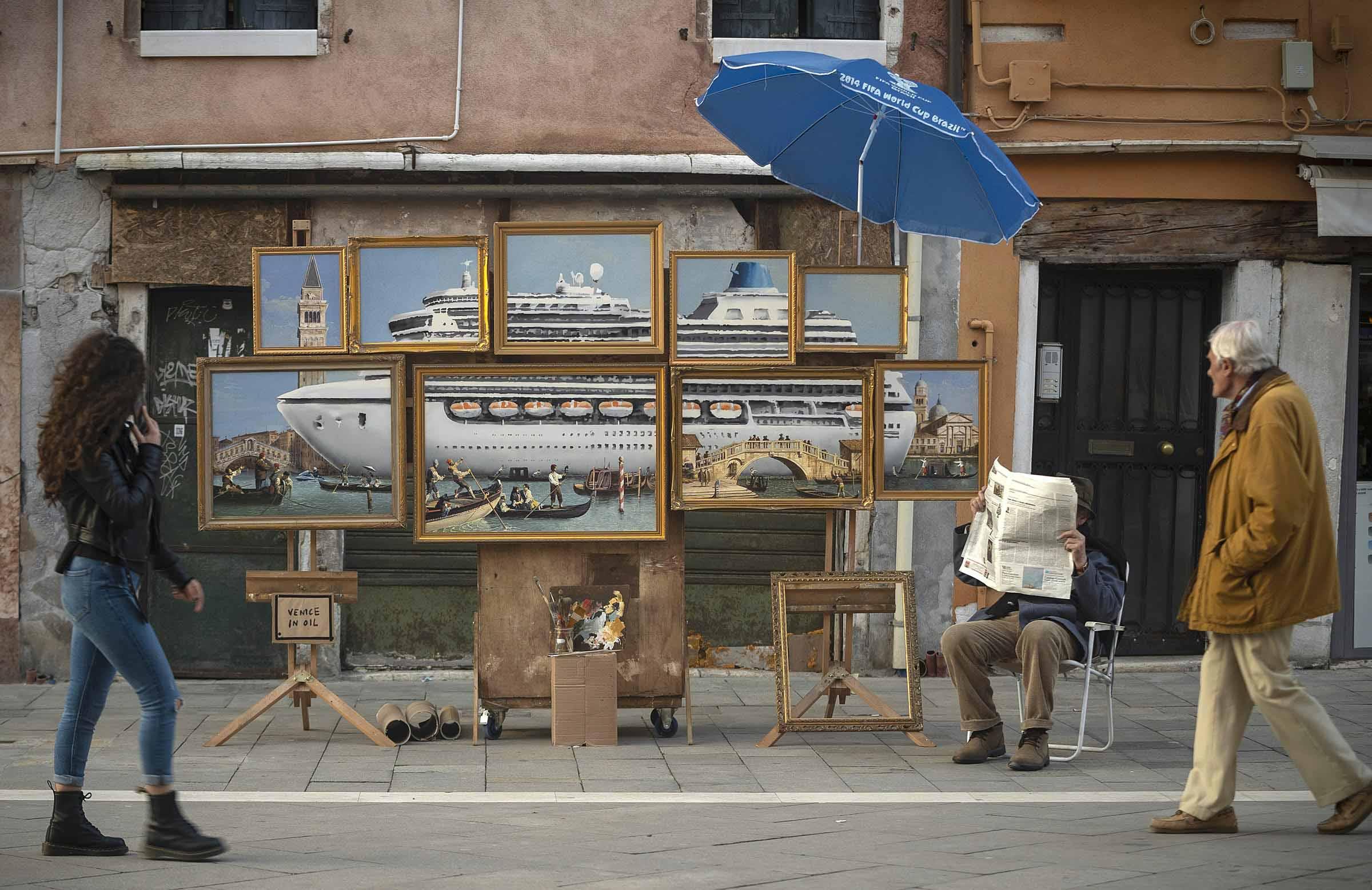 Banksy Venice
