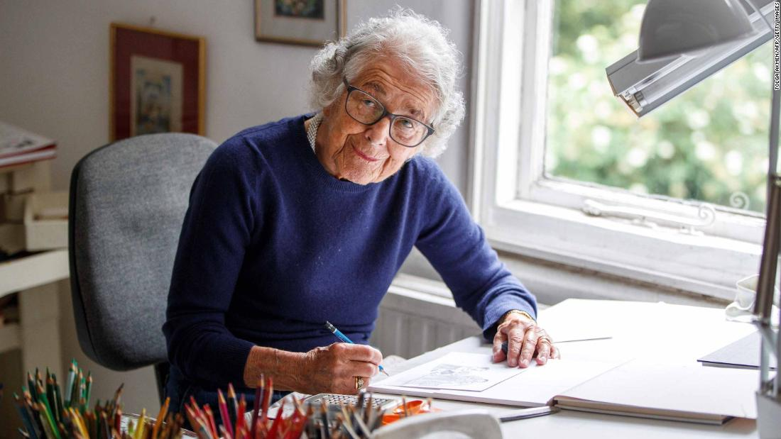Judith Kerr, author of 'The Tiger Who Came to Tea,' dies
