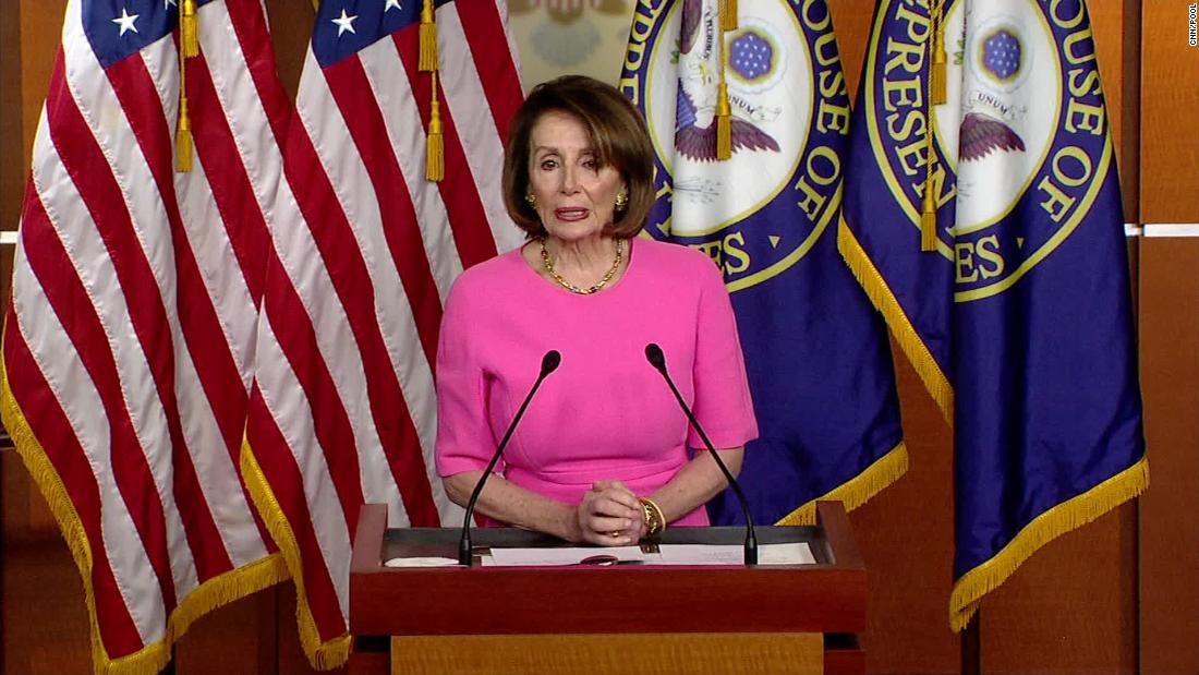 Pelosi says White House is 'crying out for impeachment'
