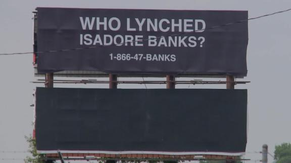 This billboard can be seen from Interstate 55 in Arkansas.