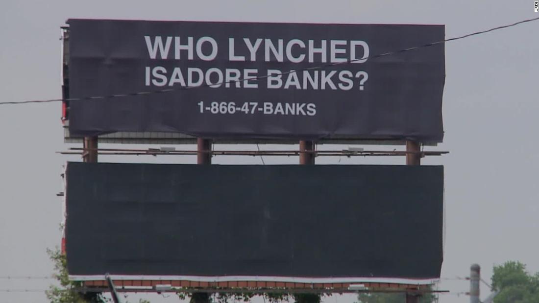 Arkansas billboard asks who lynched WWI veteran