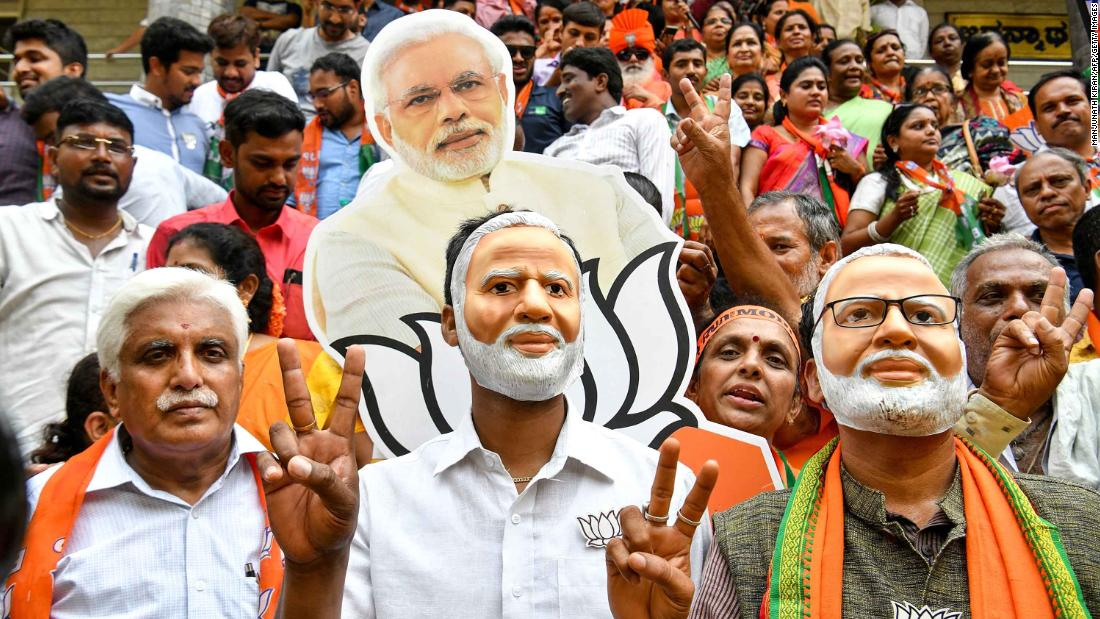 India's Modi made the election a referendum on his leadership -- and it paid off