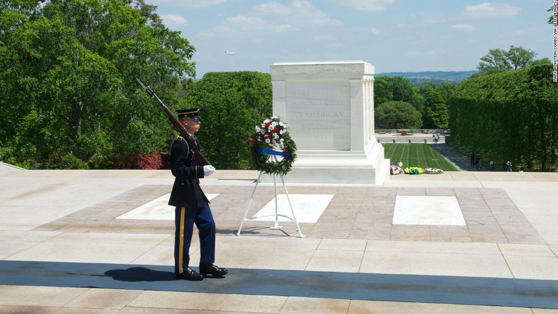 tomb of the unknown soldier - photo #1