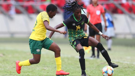 Jamaica will be the lowest ranked team competing at France 2019.