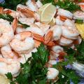 Greenhouse gas emissions shrimp